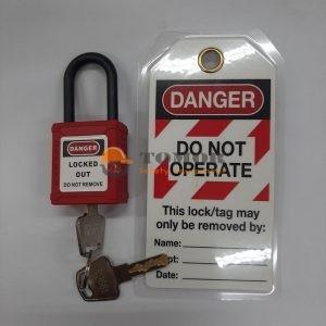 Safety Padlock Shackle Nylon
